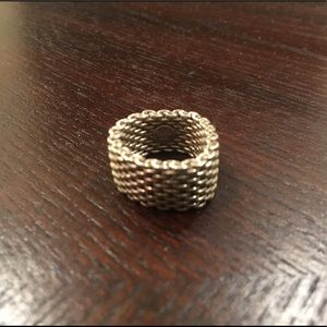Tiffany & Co. Mesh Ring Size 7